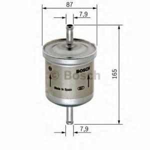 Топливный фильтр 0450905921 bosch - VOLVO S40 I (VS) седан 1.6