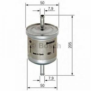 Топливный фильтр 0450905926 bosch - FORD FIESTA V (JH_, JD_) Наклонная задняя часть 1.4 16V