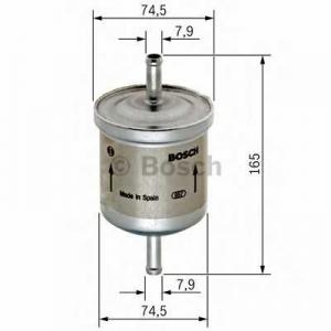 BOSCH 0450905927 Фильтр топливный (пр-во Bosch)