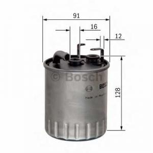 BOSCH 0 450 905 930 Фильтр топл. MB SPRINTER, VITO (пр-во Bosch)