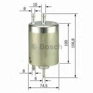 BOSCH 0450905968 Fuel filter