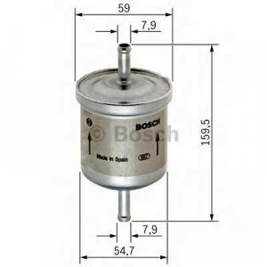 Топливный фильтр 0450905969 bosch - DAEWOO NUBIRA (KLAJ) Наклонная задняя часть 1.6 16V