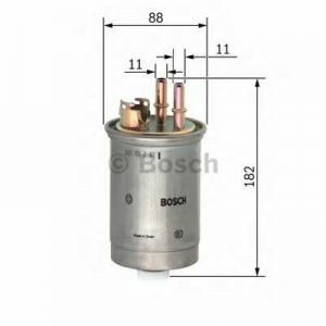 BOSCH 0450906452 Паливний фільтр 6452 FIAT Doblo,Punto 1,9D 99-06