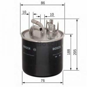 0450906459 bosch Топливный фильтр AUDI A6 седан 3.0 TDI quattro