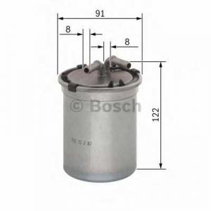 BOSCH 0450906464 Паливний фільтр 6464 MB G400,S400,ML400,E400 (463,163,211,220) 4,0 CDI 99-