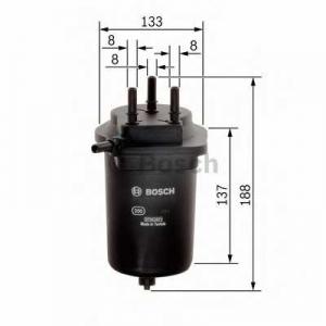 BOSCH 0450906468 Паливний фільтр - заміна на 0450907013