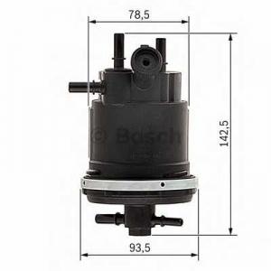 Топливный фильтр 0450907001 bosch - CITRO?N JUMPY (U6U) вэн 2.0 HDi 110