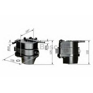 BOSCH 0450907007 Фільтр паливний