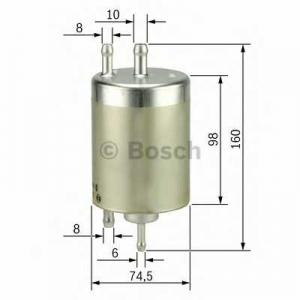 BOSCH 0450915003 Паливний фільтр 5003 MB C-E-S-CLK (203,202,209,208,220,210) -07