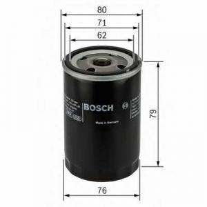 Масляный фильтр 0451102056 bosch - OPEL MANTA B (58_, 59_) седан 1.2 N