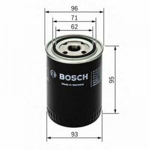 BOSCH 0451103004 Масляний фільтр 3004 SCANIA (truck)