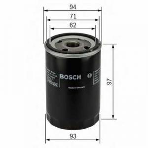 Масляный фильтр 0451103029 bosch - ALFA ROMEO GTV (116) купе 2.0 (116.36 E)