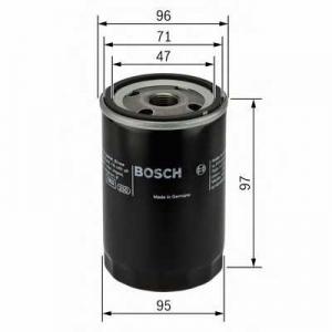 BOSCH 0451103170 Масляний фільтр 3170 ALFA ROMEO/FIAT/SEAT