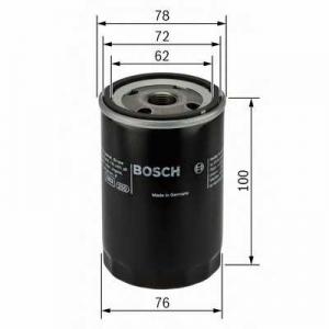 Масляный фильтр 0451103232 bosch - OPEL VECTRA A Наклонная задняя часть (88_, 89_) Наклонная задняя часть 1.7 D