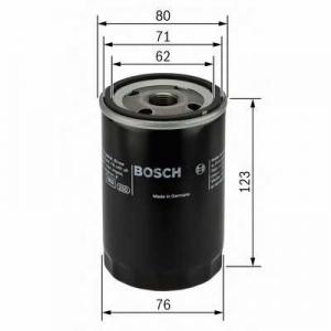 0451103258 bosch Масляный фильтр JEEP CHEROKEE вездеход закрытый 2.5 CRD 4x4