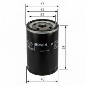 0451103300 bosch Масляный фильтр ALFA ROMEO 156 седан 1.8 16V T.SPARK (932A3)