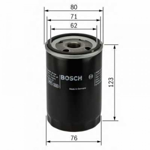 BOSCH 0451103314 Масляний фільтр 3314 AUDI/SEAT/SKODA/VW Bora,Caddy,Caravelle,Golf,Jetta,Multivan,Passat,Polo