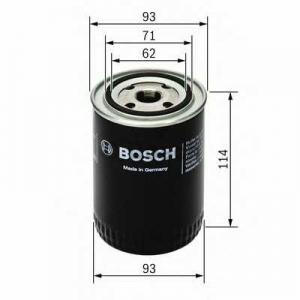 BOSCH 0 451 103 330 Фильтр масляный SCANIA (TRUCK) (пр-во Bosch)