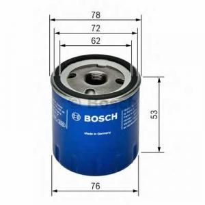 BOSCH 0451103336 Фильтр масляный DACIA, RENAULT (пр-во Bosch)