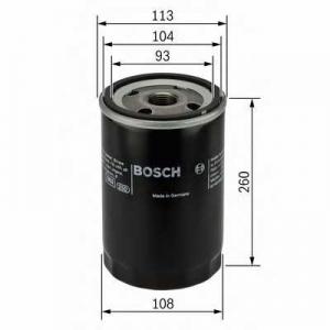 Масляный фильтр 0451103343 bosch - SCANIA P,G,R,T - series  P 270