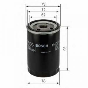 BOSCH 0451103363 Фильтр масляный FORD FOCUS, MONDEO (пр-во Bosch)