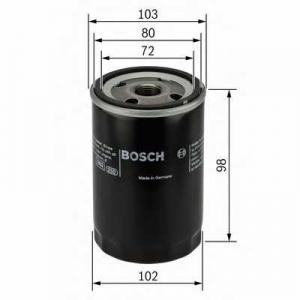 Масляный фильтр 0451103365 bosch - TOYOTA CARINA E (_T19_) Наклонная задняя часть 2.0 TD (CT190)