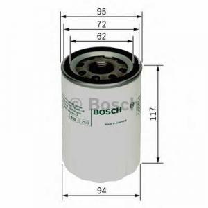 Масляный фильтр 0451103366 bosch - MITSUBISHI GALLOPER (JK-01) вездеход закрытый 2.5 TD intercooler
