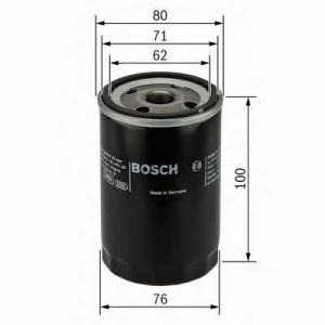 BOSCH 0451103367 Масляний фільтр 3367 JAGUAR S-Type,XJ,XK