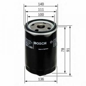 BOSCH 0451103368 Масляний фільтр 3368 VW LT 28-35-46 97-06
