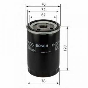 Масляный фильтр 0451103369 bosch - JAGUAR XF (_J05_, CC9) седан 3.0