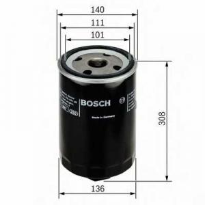 BOSCH 0451104013 Масляний фільтр 4013 DAF (truck)