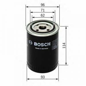 Масляный фильтр 0451104014 bosch - LAND ROVER DISCOVERY II (LJ, LT) вездеход закрытый 4.0 V8