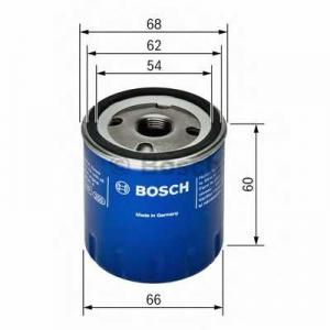 Масляный фильтр 0451104025 bosch - DACIA LOGAN (LS_) седан 1.2 16V