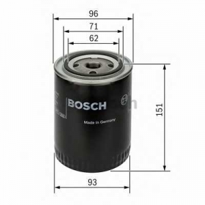 BOSCH 0451203012 Масляний фільтр 3012 VW/VOLVO Caddy,Golf,Jetta,LT 28,31,35,40,55,Passat,Polo,940,100,80,A4,A6 -09