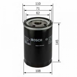Масляный фильтр 0451203201 bosch - LANCIA THEMA (834) седан 2500 Turbo D (834D)