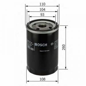 BOSCH 0451300003 Масляний фільтр 0003 RENAULT/VOLVO 370,460,B12,FL 85-00