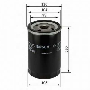 BOSCH 0451403077 Масляний фільтр 3077 RENAULT/VOLVO Magnum