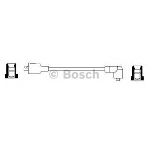 Провод зажигания 0986356040 bosch - NISSAN SUNNY фургон (Y10) фургон 1.6 i 16V