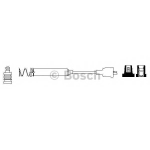 BOSCH 0986356080 Ignition cable