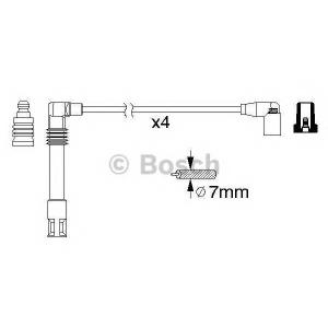 BOSCH 0986356305 Ккомплект проводов зажигания