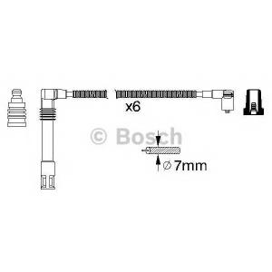 0986356321 bosch Комплект проводов зажигания AUDI A8 седан 2.8