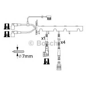 BOSCH 0986356328 Ккомплект проводов зажигания