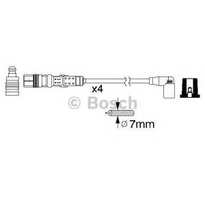 Комплект проводов зажигания 0986356345 bosch - VW GOLF IV Variant (1J5) универсал 2.0