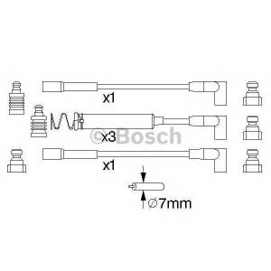 Комплект проводов зажигания 0986356723 bosch - OPEL KADETT E Combo (38_, 48_) фургон 1.6 i