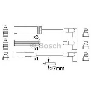 Комплект проводов зажигания 0986356739 bosch - DAEWOO ESPERO (KLEJ) седан 1.8
