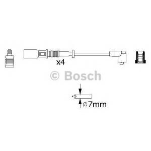 0986356754 bosch Комплект проводов зажигания FIAT PALIO Наклонная задняя часть 1.2