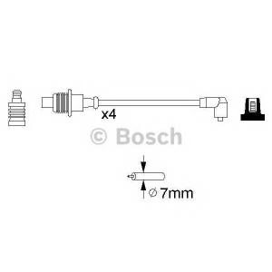 BOSCH 0986356767 Ккомплект проводов зажигания