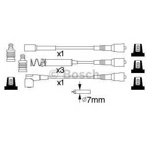 BOSCH 0 986 356 801 Провода высоковольтные (компл.) (пр-во Bosch)