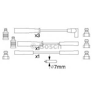 BOSCH 0986356803 Ккомплект проводов зажигания