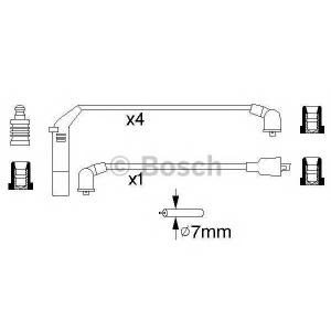 BOSCH 0 986 356 813 Провода высоковольтные (компл.) (пр-во Bosch)